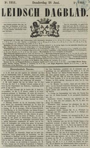 Leidsch Dagblad 1866-06-28