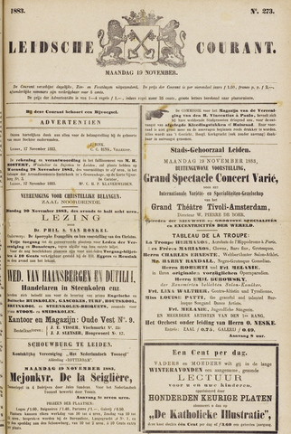 Leydse Courant 1883-11-19