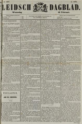 Leidsch Dagblad 1873-02-19