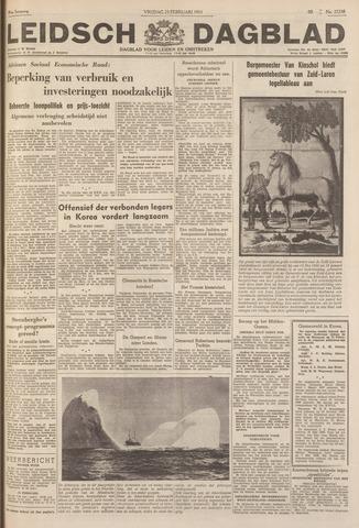 Leidsch Dagblad 1951-02-23