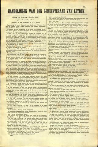 Handelingen van de Raad 1867-10-05