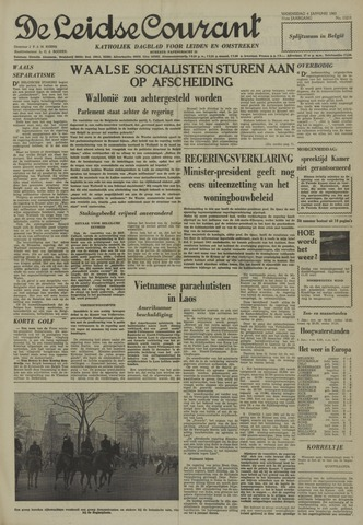 Leidse Courant 1961-01-04