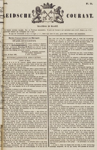 Leydse Courant 1885-03-30