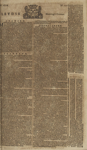 Leydse Courant 1754-10-07