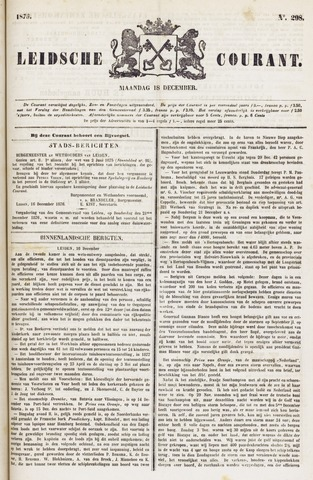 Leydse Courant 1876-12-18