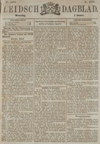 Leidsch Dagblad 1878