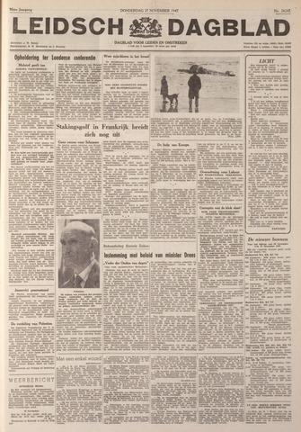 Leidsch Dagblad 1947-11-27