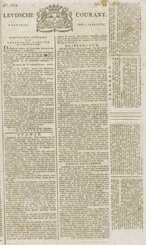 Leydse Courant 1825-02-02
