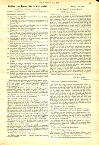 Handelingen van de Raad 1901-07-18