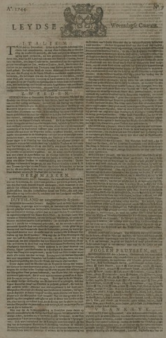 Leydse Courant 1744-01-15