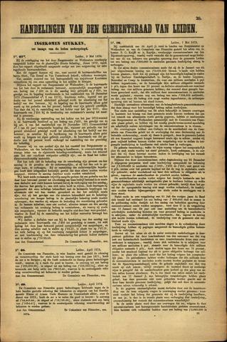 Handelingen van de Raad 1872-05-02