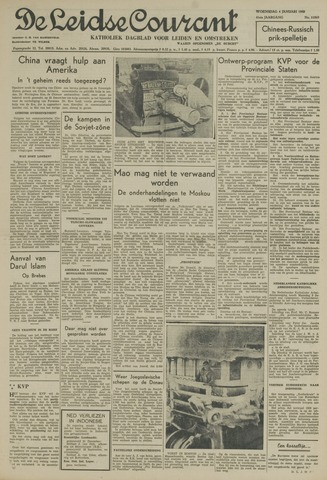 Leidse Courant 1950-01-04
