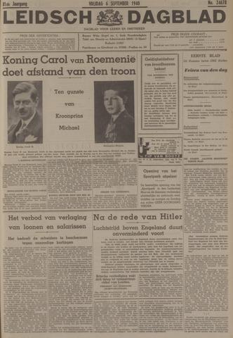 Leidsch Dagblad 1940-09-06