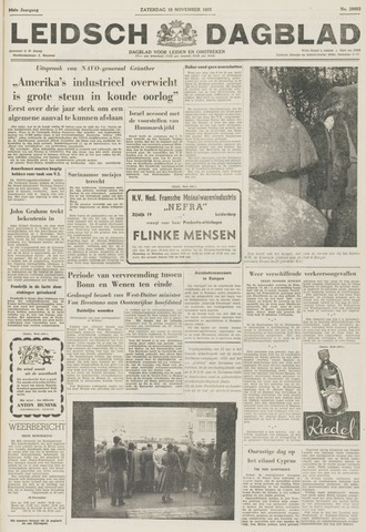 Leidsch Dagblad 1955-11-19