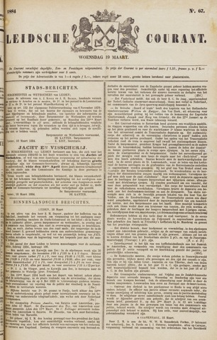 Leydse Courant 1884-03-19
