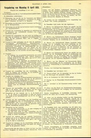 Handelingen van de Raad 1935-04-15