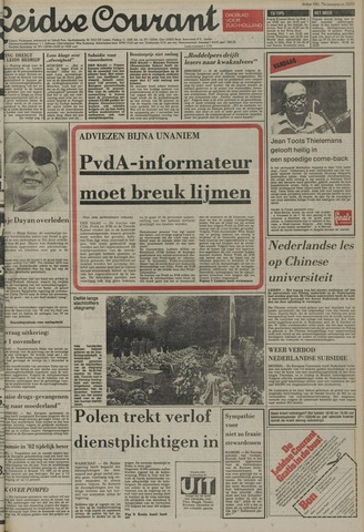 Leidse Courant 1981-10-17
