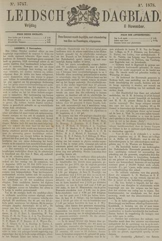 Leidsch Dagblad 1878-11-08