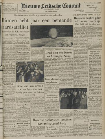 Nieuwe Leidsche Courant 1957-10-08