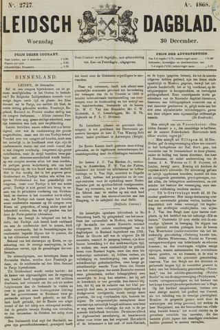 Leidsch Dagblad 1868-12-30
