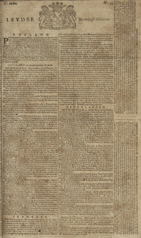 Leydse Courant 1760-03-31