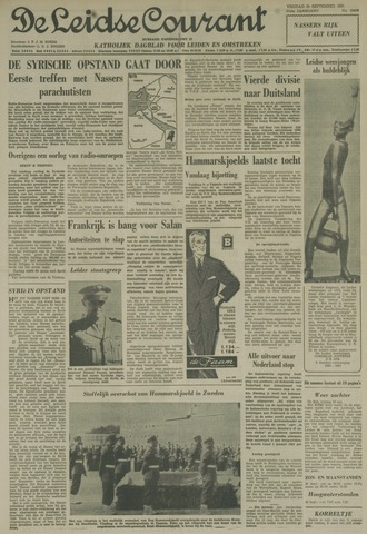 Leidse Courant 1961-09-29
