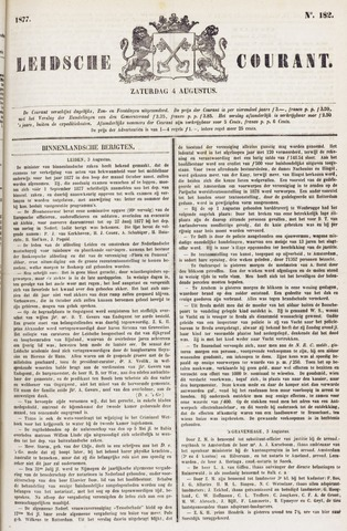 Leydse Courant 1877-08-04