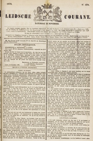 Leydse Courant 1872-11-23