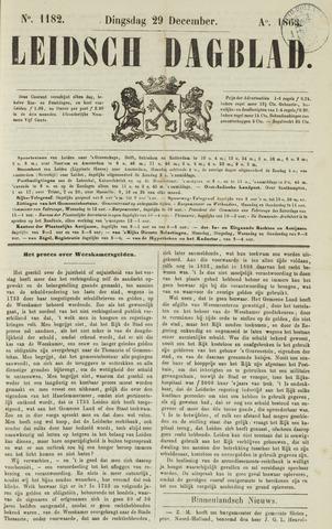 Leidsch Dagblad 1863-12-29