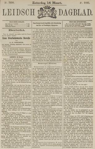 Leidsch Dagblad 1885-03-14