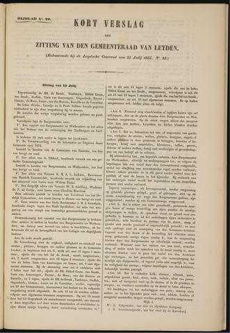Handelingen van de Raad 1855-07-19