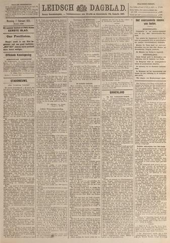 Leidsch Dagblad 1921-02-07