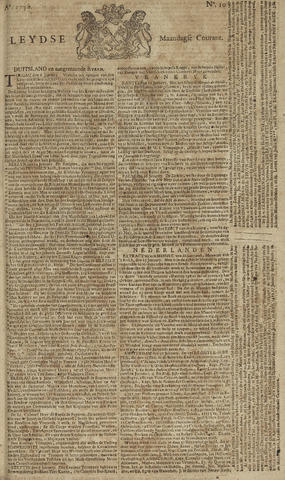 Leydse Courant 1758-01-23