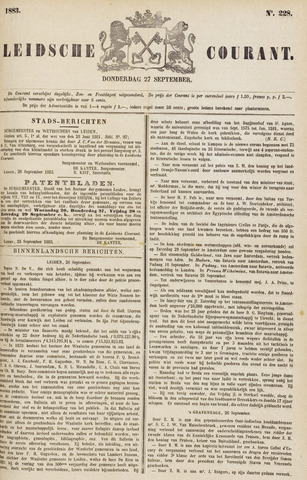 Leydse Courant 1883-09-27