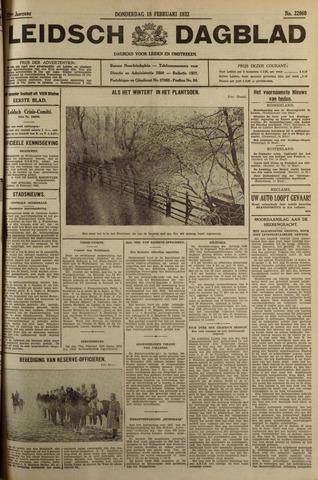 Leidsch Dagblad 1932-02-18