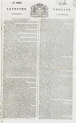 Leydse Courant 1838-11-28
