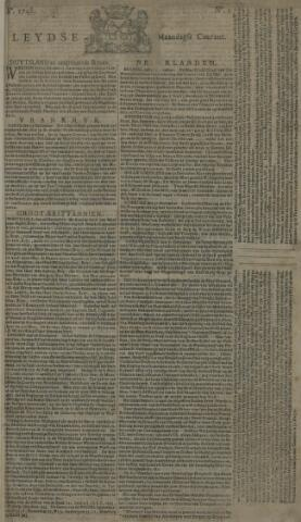 Leydse Courant 1748