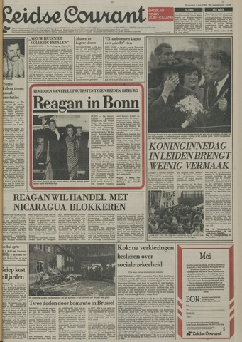Leidse Courant 1985-05-01