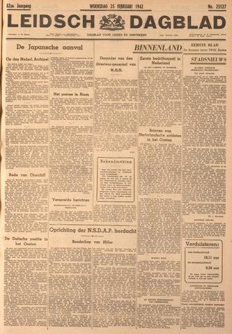 Leidsch Dagblad 1942-02-25