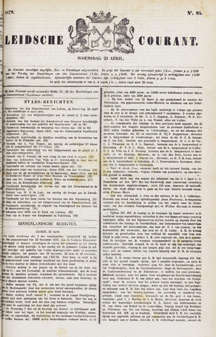 Leydse Courant 1879-04-23