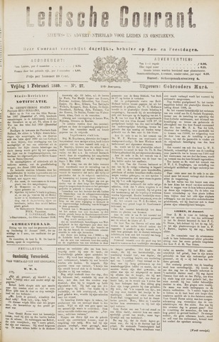 Leydse Courant 1889-02-01