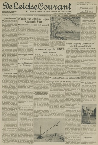 Leidse Courant 1949-03-21