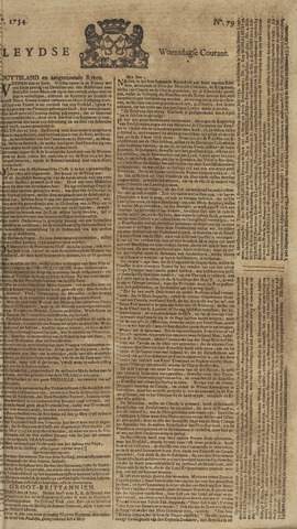Leydse Courant 1754-07-03