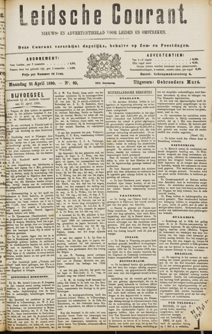 Leydse Courant 1890-04-21
