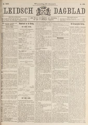 Leidsch Dagblad 1915-01-13
