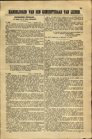 Handelingen van de Raad 1875-08-05