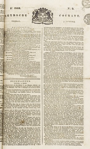 Leydse Courant 1844-01-05