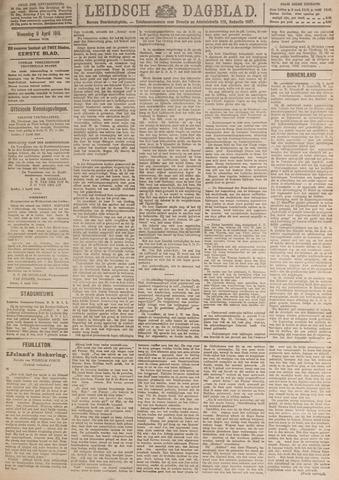 Leidsch Dagblad 1919-04-09