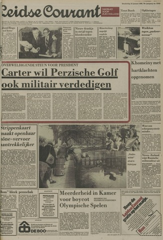 Leidse Courant 1980-01-24