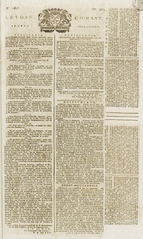 Leydse Courant 1817-08-22